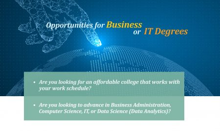 SB&T Opportunities for Business or IT Degrees